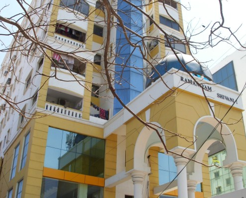 3 BHK Ramaniyam Shivam - Thiruvanmiyur South Chennai ECR