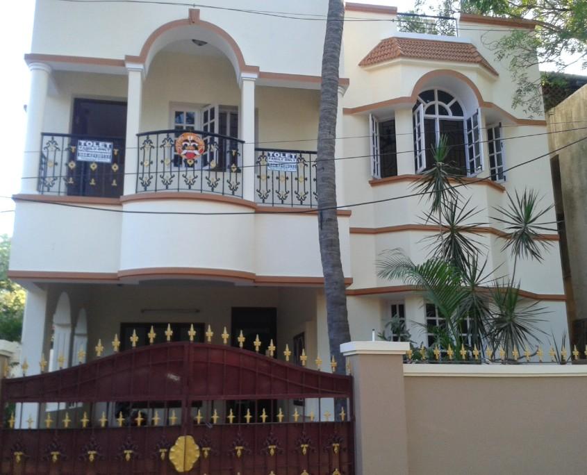 4 bhk duplex house for rent thiru vi ka nagar chennai for Individual house model pictures