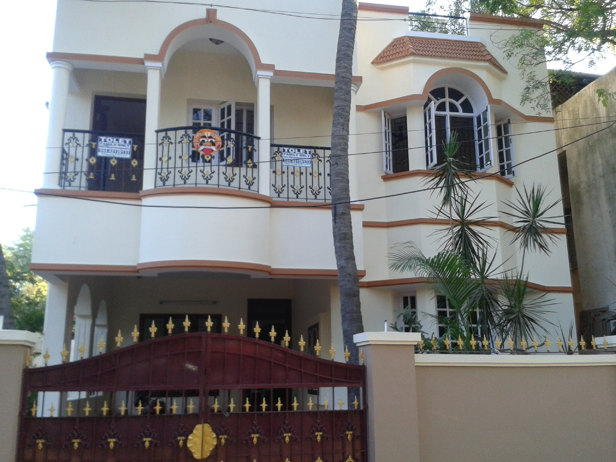 4 Bhk Duplex House For Rent Thiruvika Nagar Chennai