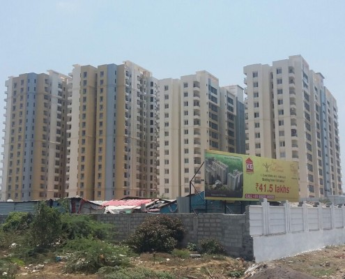3 BHK For Rent in KG Signature City Mogappair, Chennai North