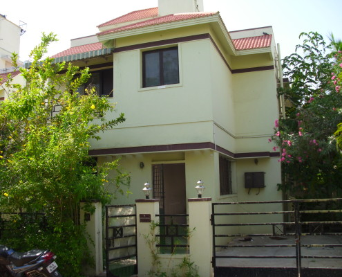 perungudi House 3 bhk for sale heritage Vijeyendra Nagar