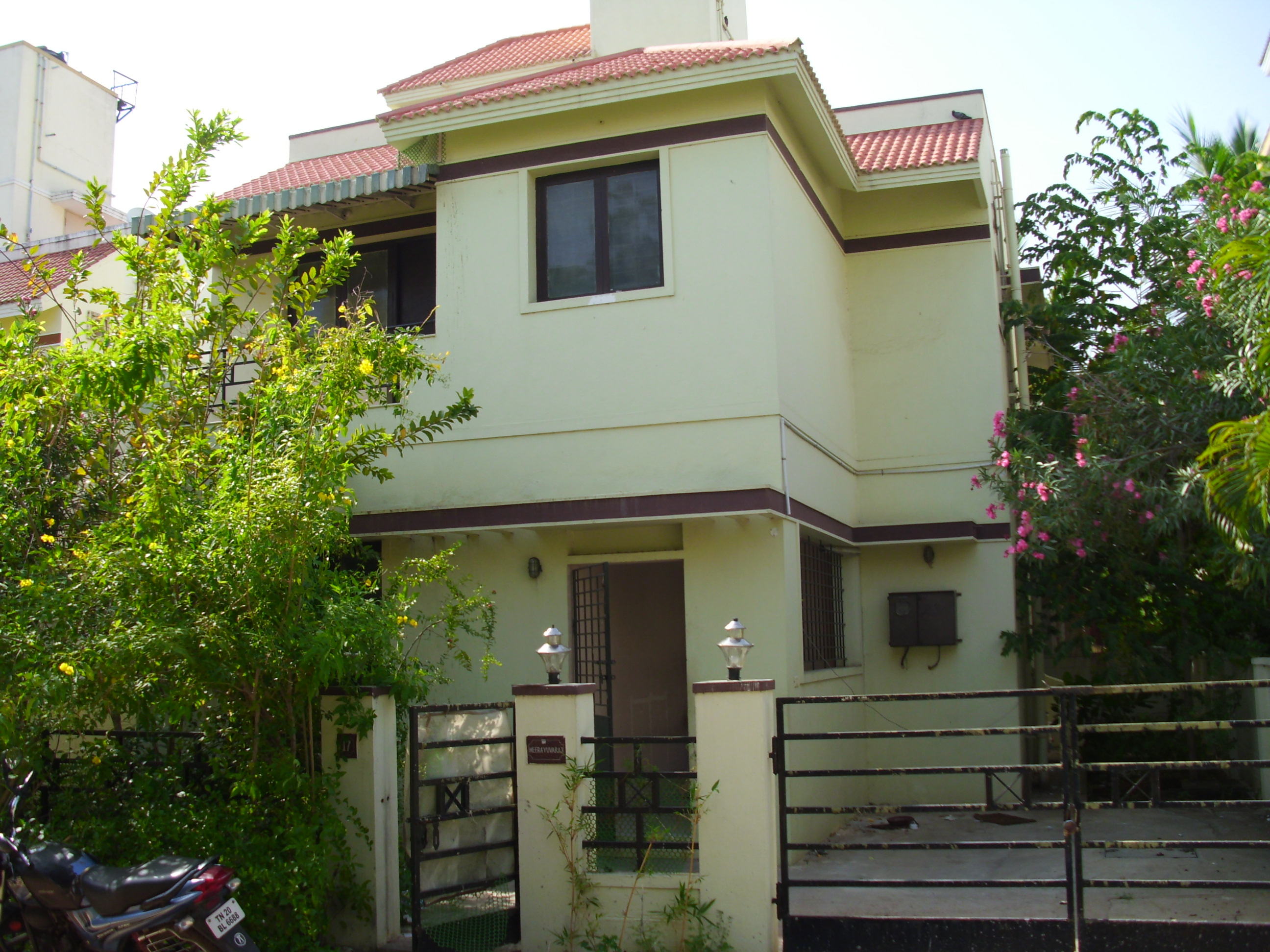 3 Bhk 1550 Sf Independant Villa Perungudi Omr Chennai For Rent