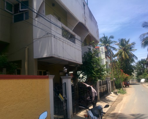 saligramam Gandhinagar for rent 2 bhk