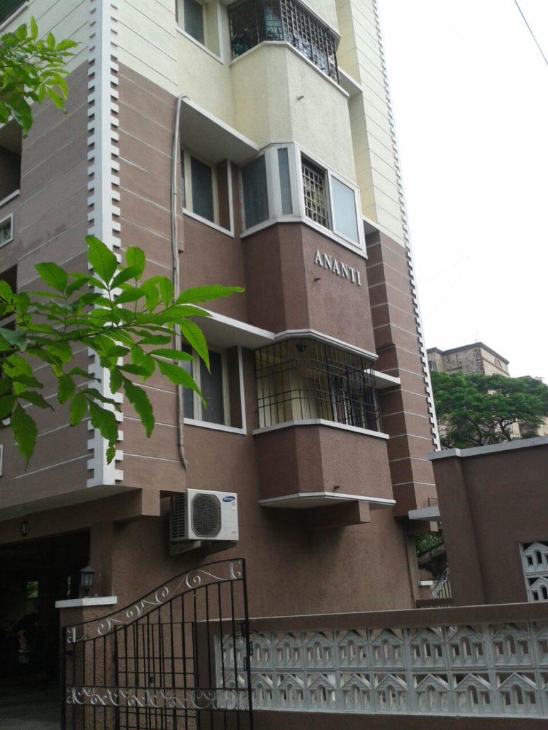 2 Bhk 900sf Ananti Apartments Near Santhome Church Chennai