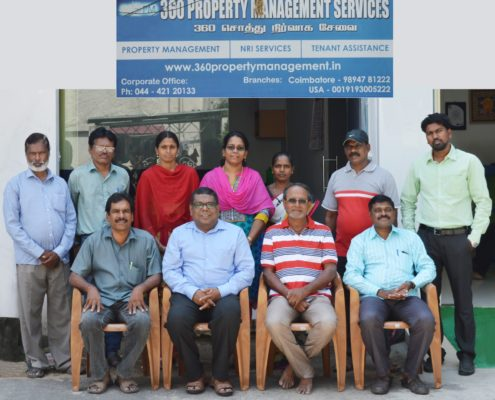 360 Property Management Chennai Team